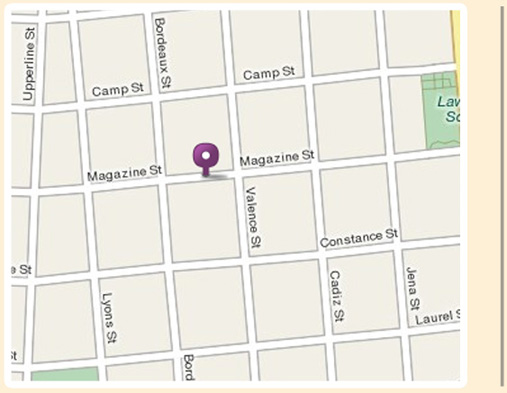 Magazine Street New Orleans Map.Apolline Restaurant New Orleans La Contact Hours And Location